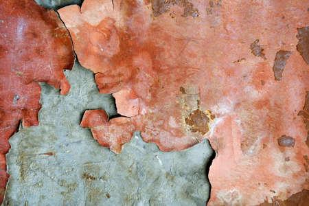 plaster wall: Viejo pelado pared de yeso. Foto de archivo