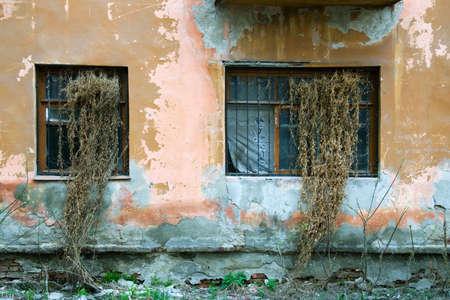 Windows of an old rundown building. Stock Photo - 4856720