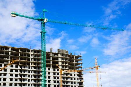 Construction site. Stock Photo - 4906385