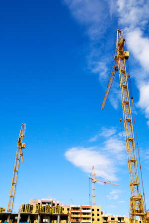 Construction site. Stock Photo - 4906412