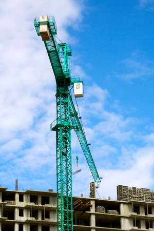 Construction site. Stock Photo - 4917709