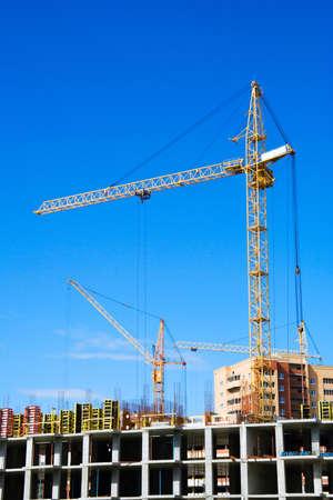 Construction site. Stock Photo - 5046544