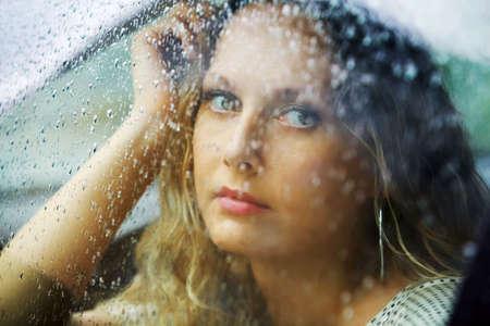 Rainy melancholy. photo