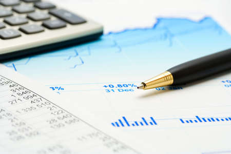 Business reports. Stock Photo - 6054579