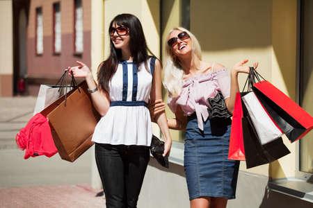 Happy shopping. Stock Photo - 7315197