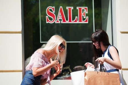 Window shopping. Stock Photo - 7315188