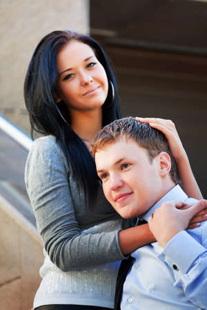 Happy young couple. Stock Photo - 8080372