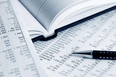 Financial analysis photo