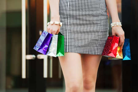 Little shopping Stock Photo - 9339102