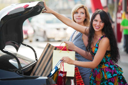 After shopping Stock Photo - 9963332