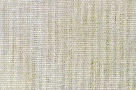 hanf: Raue Baumwoll-Canvas Textur