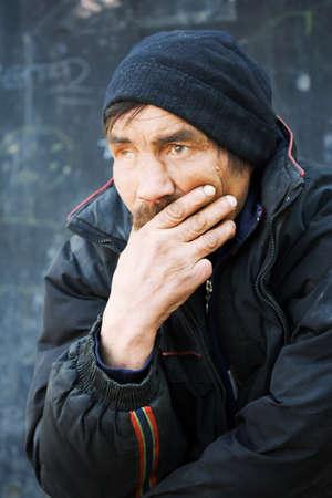 Homeless man  photo