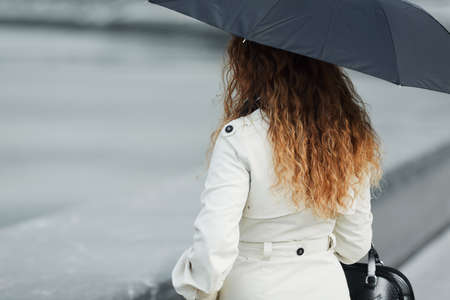 Woman with umbrella Stock Photo - 12007894