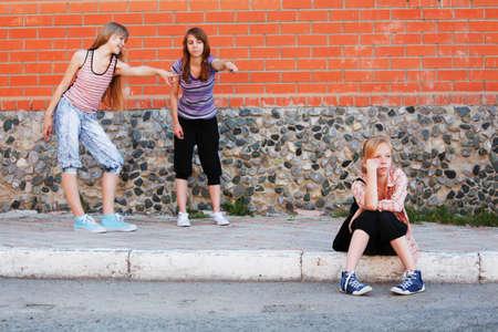 resent: Teenage girls in conflict