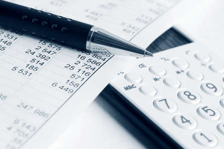 Financial accounting Stock Photo - 18713559