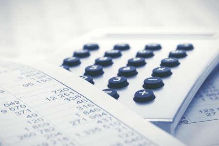 Financial accounting calculator on balance sheets
