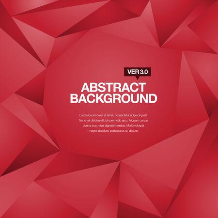 Abstrakte geometrische und polygonale Hintergrund mit editierbaren Titel und Texte Körper Standard-Bild - 26051070