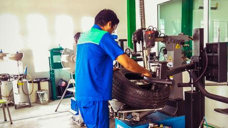 technical assembler tire   in tire service center