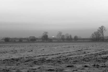 blackly: Winter west of the sun, blackly white picture