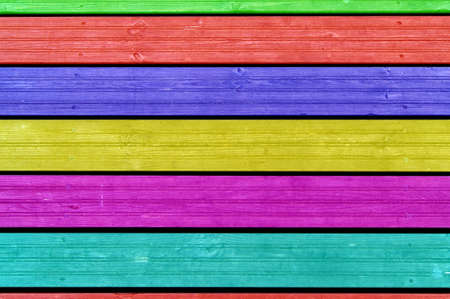 Colourful background, colourful boards, colourful fence Reklamní fotografie - 15903572