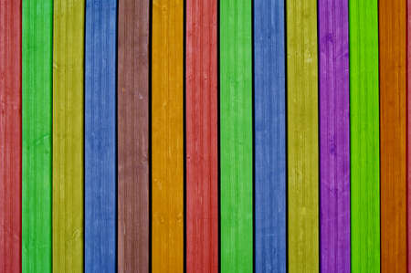 Colourful background, colourful boards, colourful fence Reklamní fotografie - 15903581