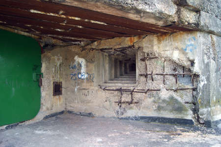 Fortification with time Second World War  Fortyfikacja z czasu Drugiej Wojny