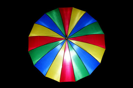 Colourful umbrella photo