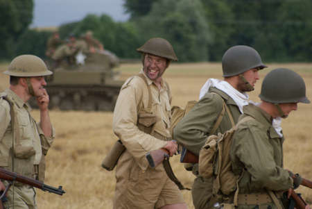 allies: Front in Africa, soldiers Allies