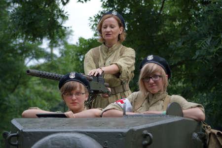 Woman in tank