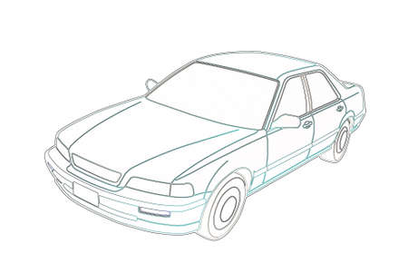 Auto Legend on a white background graphics  Contours