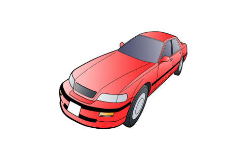 arkadia: Auto Legend on a white background graphics  Distorted perspective 2, long