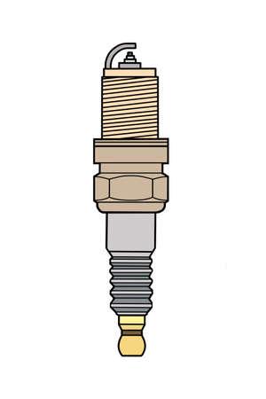 spark plug: The engine spark plug