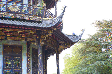 balustrades: Chinese tourist attraction in Brussels.