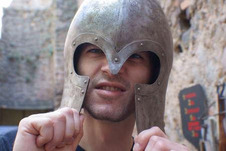 Knights helmet.