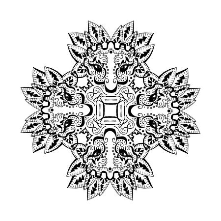 Isolating the image of American Indians ornament