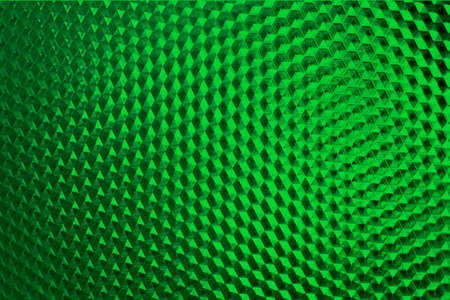 green background of abstraction, honeycomb, geometric shapes Imagens