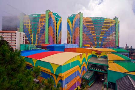 カラフルなホテル