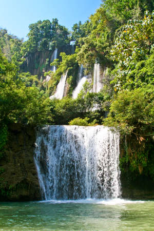 Thi Lor Su waterfall, the biggest in Thailand