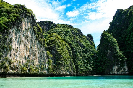 Phi Phi islands and Maya Bay in Thailand photo
