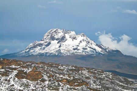 kilimanjaro: Mawenzi mountain view from Kilimanjaro