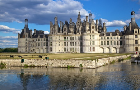 chambord: Chateau de Chambord, Loire Valley, France Editorial