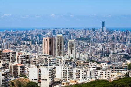 beirut: Beirut cityscape, Lebanon., Lebanon.