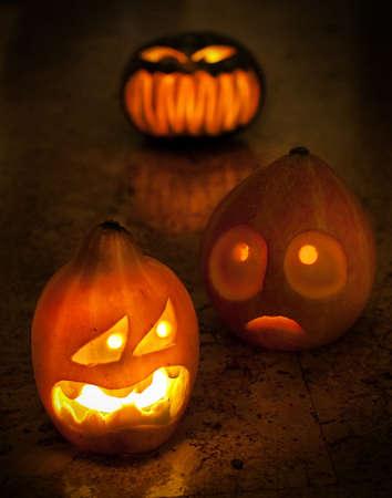 carving pumpkin: De Halloween