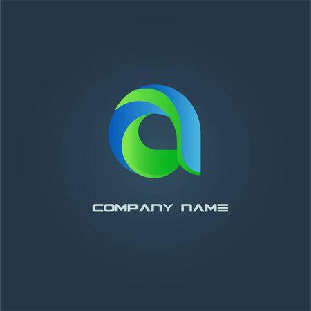 """Logo della lettera """"A"""" isolato"""
