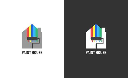 Real estate logo isolated. House vector image