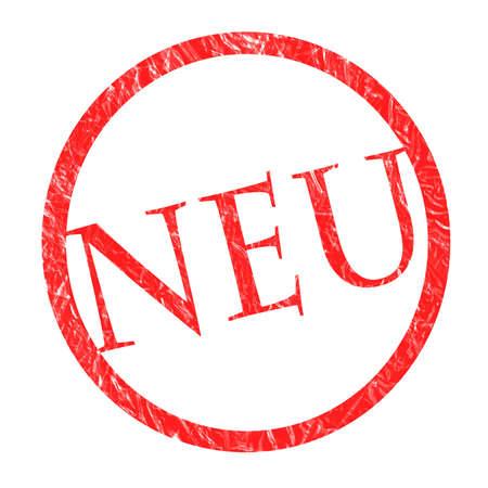 stamp NEU