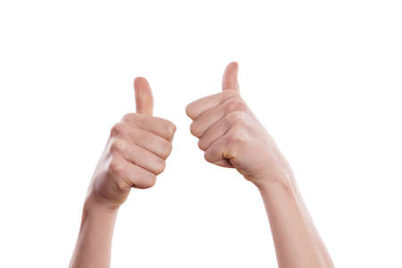 thumbs up Stock Photo - 17642126