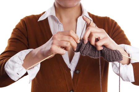 knitting Stock Photo - 17657537
