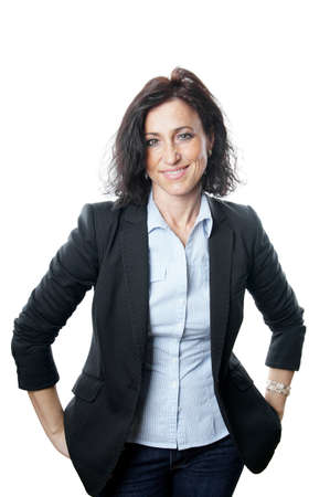 blusa: Mujer de negocios