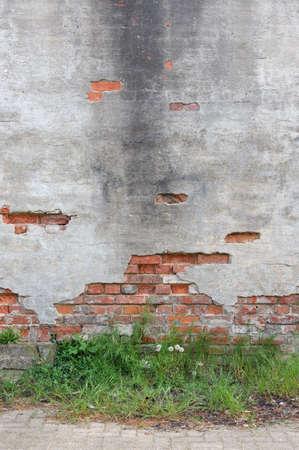 derelict: derelict wall Stock Photo
